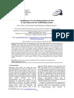 Optimization of Recirculating Laminar Air Flow