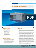 YX-DL Integrated Sulfur Analyzer (Indonesia)