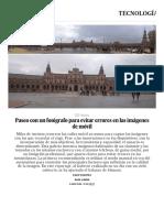 Fotos_ Paseo Con Un Fotógrafo Para Evitar Errores en Las Imágenes de Móvil _ Tecnología _ EL PAÍS