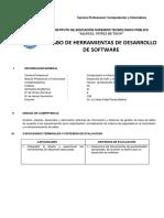 Sílabo CI 2018 1 Herramientas De Desarrollo De Software
