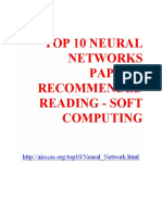 Top 10 Neural Networks