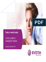 Trend of Active Ingredient in Cosmetic Industry