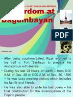 Martyrdom at Bagumbayan