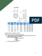 Socket Pressure Plugs