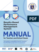 2018 RPMS Manual for Teachers and School Heads_may28,2018 Update