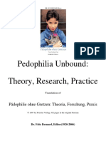 Frits Bernard - Pedophilia Unbound