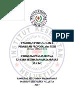 Panduan Penyusunan Tesis 2017 Rev 19032017
