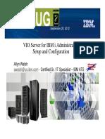 VIOS for IBM i Administrators ARPUG