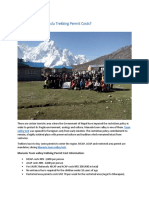 Manaslu Tsum Valley Trek Permit and Cost(2)