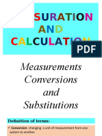 Measurements, Conversions, And Substitutions [group 3].pptx