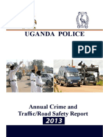Uganda Annual Crime and Traffic Road Safety Report 2013