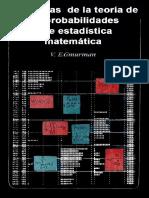 GMURMAN - Problemas de La Teoría de Las Prob y Estadística Matemática 1