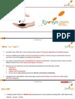 Evosys Corpo Gen Profile 2014-15