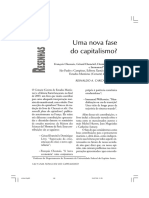 Uma Nova Fase Do Capitalismo? Chesnais, Wallerstein