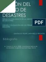 1 Origen y Evolucion Historica Del Riesgo y Desastre