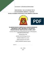 Pryecto de Envestigacion Elabracin de Compostaje