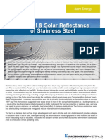 SolarReflectance Stainless Steel