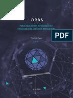 Orbs Position Paper v1.6