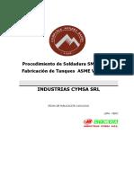 04 Procedimiento de Soldadura SMAW Tanques a Presión
