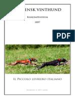 Italiensk Vinthund Raskompendium.