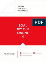 Soal to 4 Futuredoctorindonesia