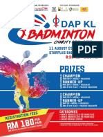 DAP KL Badminton Open 2018