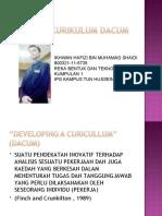 Definisi Pendekatan DACUM Dan Analisis Tugas