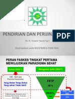 Pendirian Dan Perijinan Muhammadiyah