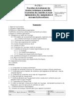 P-CTE-2 Traitement Des Dossiers Techniques Réglementaires Et Exécution Des Contrôles Et Essais 23 03 2015 - Copie