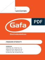 Manual Instructivo Freezer Eternity Full