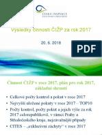 ČIŽP statistika 2017