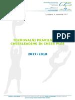 CZS Tekmovalni Pravilnik 2017 2018.Compressed