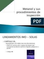 Metanol y Sus Procedimientos de Inspeccion