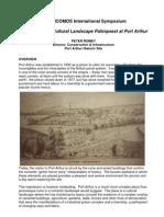 Interpreting the Cultural Landscape Palimpsest at Port Arthur