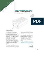 Cel ( Acoustical Calibrator)