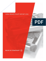 BAIN REPORT India Private Equity Report 2018
