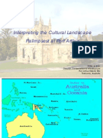 Interpreting the Cultural Landscape Palimpsest at Port Arthur Presentation