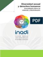 3.- Diversidad Sexual y DDHH - Cuadernillo INADI 2016