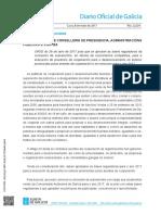 Otras Disposiciones Coop. Int. Galicia