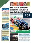 Los malos tratos se disparan en Aragón, con 4 denuncias al día