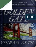 The Golden Gate _ a Novel in Ve - Seth, Vikram, 1952