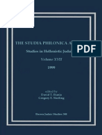 David T. Runia-Studia Philonica Annual_ Studies in Hellenistic Judaism, Vol. XVII, 2005 (Brown Judaic Studies 344) (2005).pdf