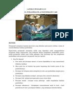 LAPORAN PENDAHULUAN Pre Operatif, Intra Operatif, Post Operatif Care