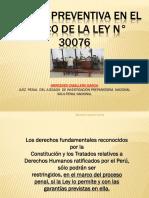1_Prision Preventiva Ley 30076