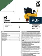 Manual Moto Press Wp8.2-25