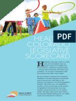 2018 Healthier Colorado Health Scorecard