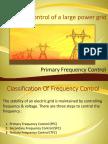 Primary Freq. Control