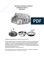 crawford garden party history