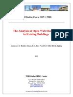 Analysis of Open Web Steel Joists