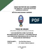 """""""Los Incidentes Como Factor De"""
